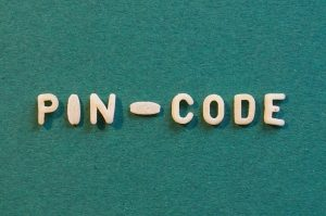pin enter