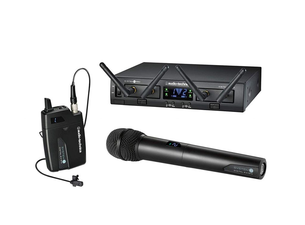 Audio-Technica System 10 Pro Digital Wireless Digital Lavalier/Handheld Combo